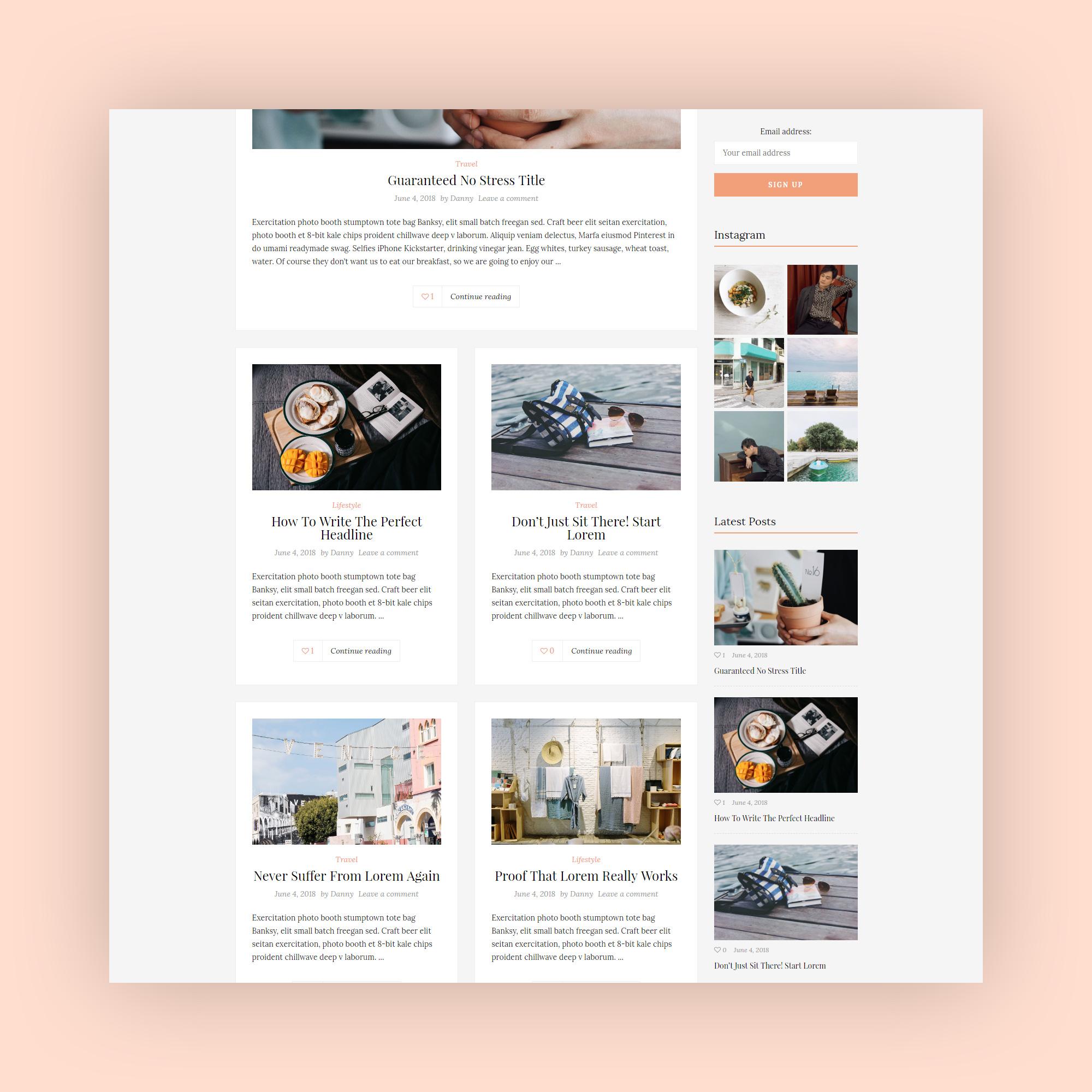 SouthBlog - Minimal and Modern Blog WordPress Theme-2