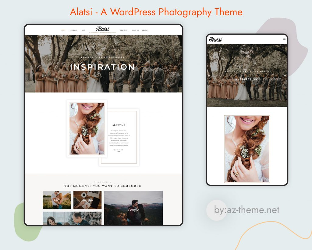 Alatsi A WordPress Photography Theme