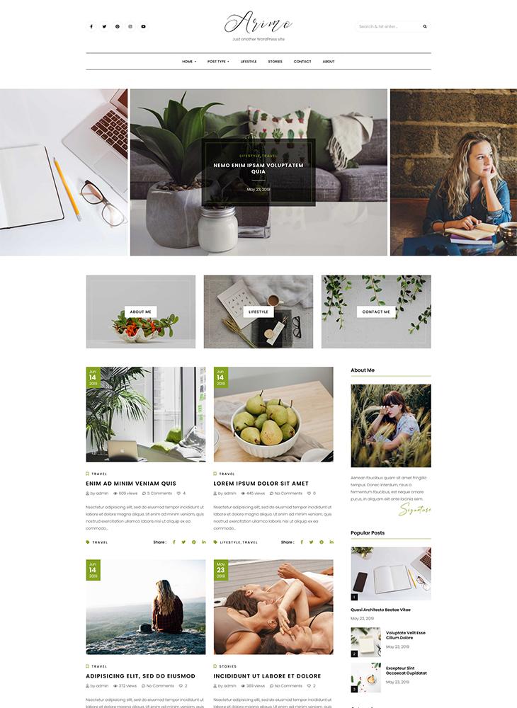 Arimo-Blog-WordPress-Theme
