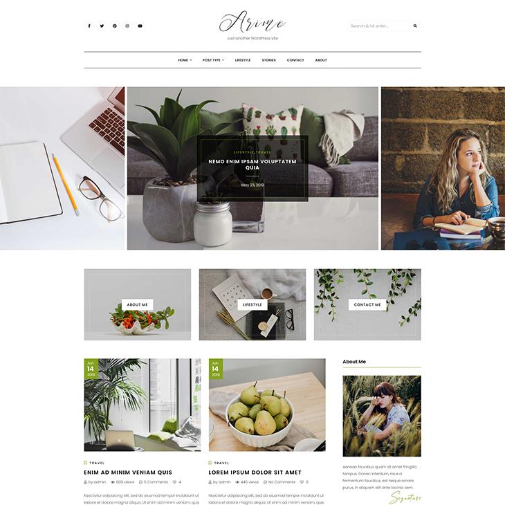 Arimo-Minimal-&-Modern-Blog-WordPress-Theme